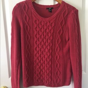 Cozy Berry Pink Sweater